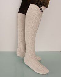 knee-length socks