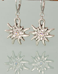 """Wilma"" earrings crystal"