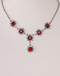 """Blume"" necklace red"