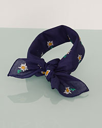 Neckerchief dark blue