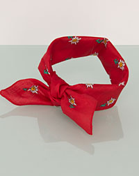 Neckerchief red