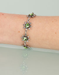 """Blume"" bracelet apple"