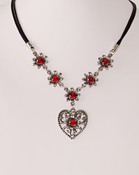 """Elsa"" necklace red"