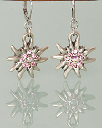"""Wilma"" earrings rose"