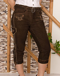 """Carolin"" leather trousers"