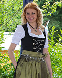 """Jane"" waitress dirndl"