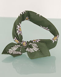Neckerchief  dark green