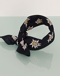 Neckerchief black