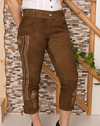 """Elly"" leather trousers"