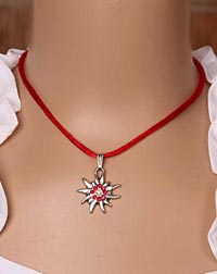 """Edelweißchen"" child necklace"