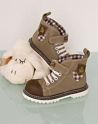 Child boots beige bis Gr. 28