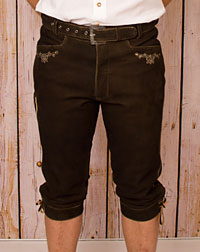 """Lich"" leather trousers+ belt"
