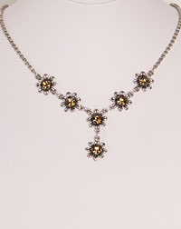 """Blume"" necklace brown"