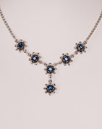 """Blume"" necklace blue"