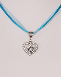 """Lilli"" necklace turquoise"