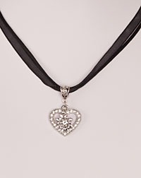 """Lilli"" necklace black"
