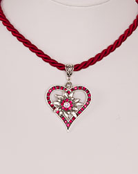 """Vroni"" necklace bordeaux"