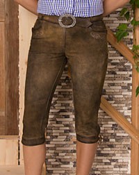"""Zwiesel"" leather trousers"