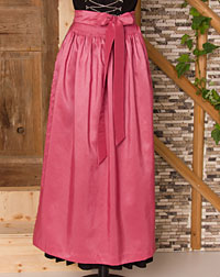 Apron long, antique pink