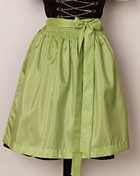 Apron mini, green