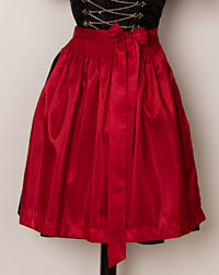 Apron mini, red