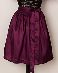 Apron mini, plum