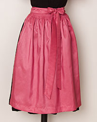 Apron, medium-length, antique pink