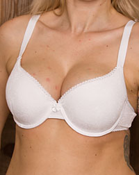 Bra for dirndl, white