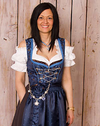"""Dentlein"" dirndl + apron"