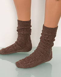 socks brown