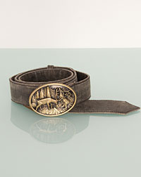 Brown belt for him and her