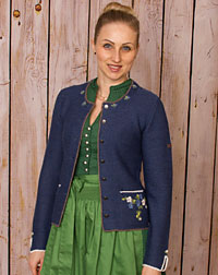 """Hirschaid"" Strickjacke"