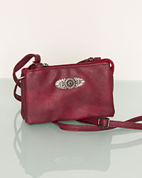 """Lissi"" bag bordeaux"