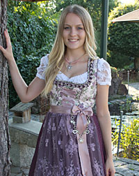 """Mainburg"" dirndl + apron"