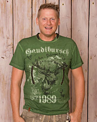 """Burschi grün"" shirt"