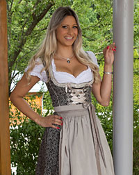 """Merching"" dirndl + apron"
