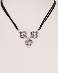 """Ella"" necklace crystal"