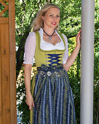 """Obergriesbach"" dirndl + apron"