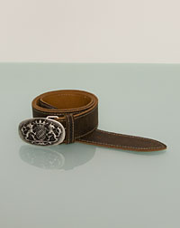 Belt with bavarian lions