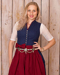 """Valley"" dirndl + apron"