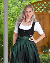 """Ines"" waitress dirndl"