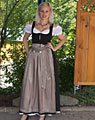 """Andernach"" waitress dirndl long"