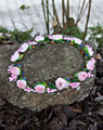 Floral wreath rose