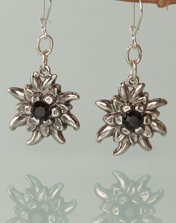 """Marie"" earrings black - Bild vergrößern"