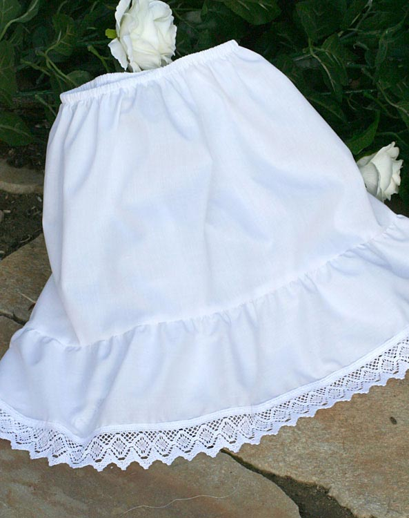 """Lilly"" underskirt for baby + child - Bild vergrößern"