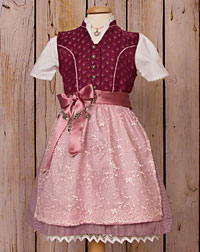 Child- dirndl, size 80-164